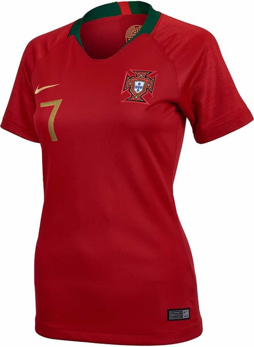 Portugal 2018-2019 Home Soccer Jersey