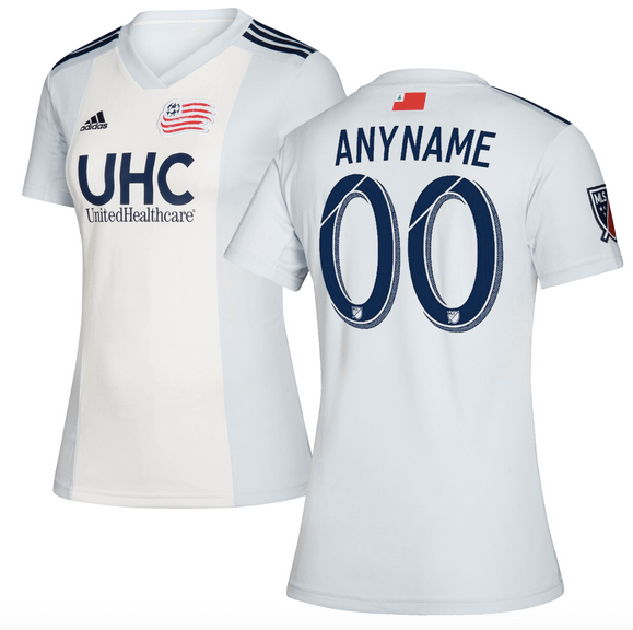 New England Revolution Jersey for Men, Women, or Youth - Customizable