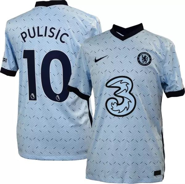 Christian Pulisic Chelsea 2020-2021 Road Soccer Jersey