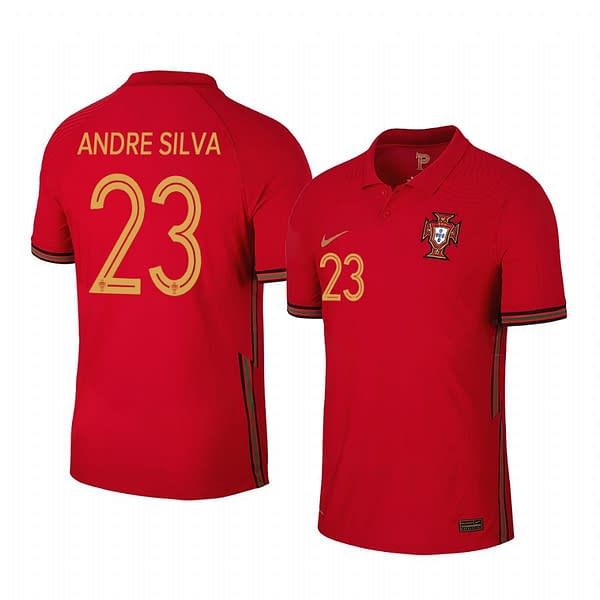 Portugal 2020-2021 Home Soccer Jersey