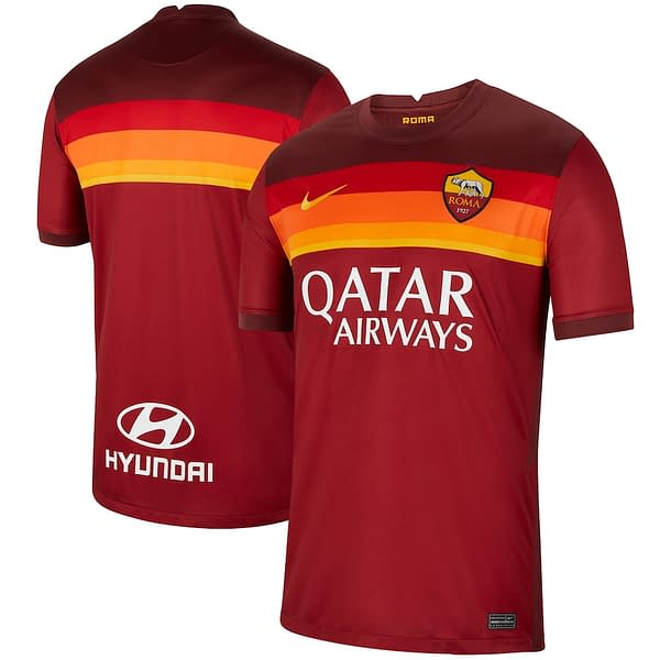 AS Roma 2020-2021 Home Soccer Jersey