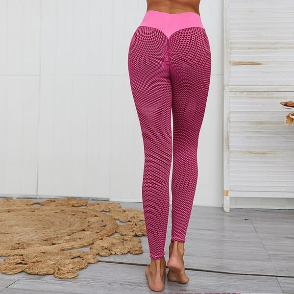 Push Up Leggings for Women color: Blue Red Gray Black and Gray Green  Refuse You Lose