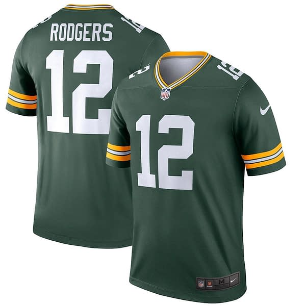 Aaron Rodgers Green Bay Packers NFL Football Jersey