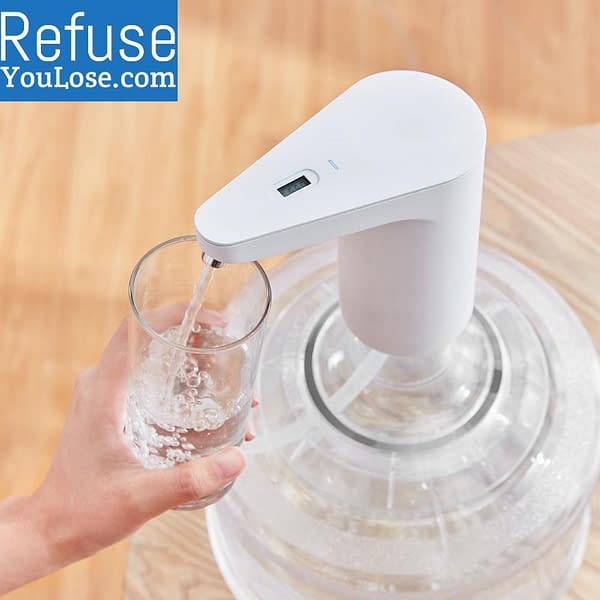 Automatic Mini Water Dispenser color: Bucket standard pump standard pump bucket TDS pump and bucket TDS water pump  Refuse You Lose