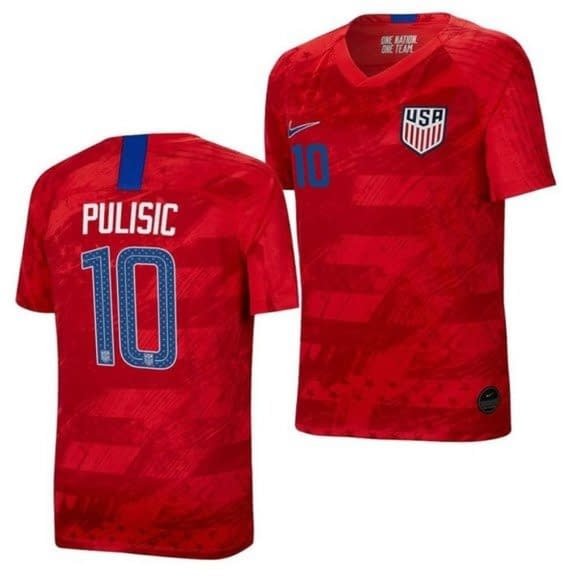 Christian Pulisic 2018-2019 Road Soccer Jersey