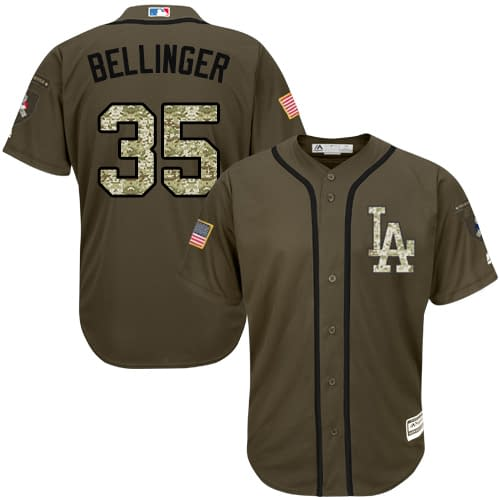 Cody Bellinger Los Angeles Dodgers Salute to Service MLB Baseball Jersey