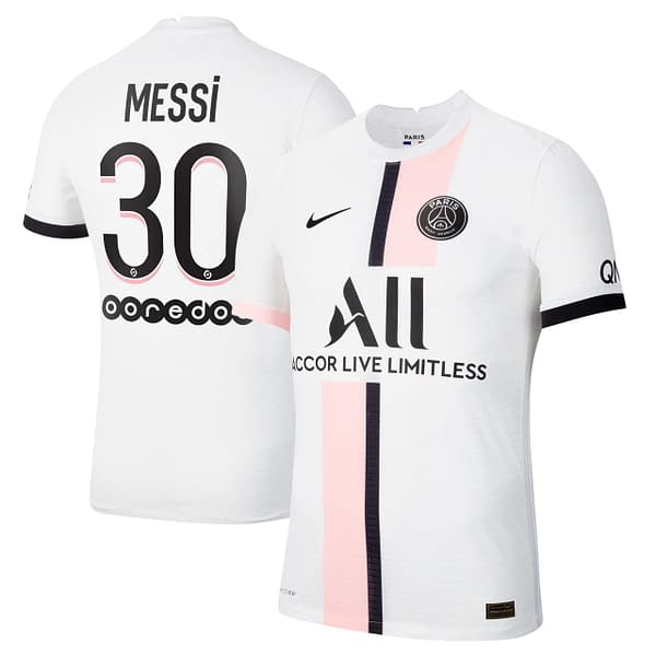 Lionel Messi PSG Jersey for Women, Youth, or Men color: 2021-2022 Home 2021-2022 Road  Refuse You Lose