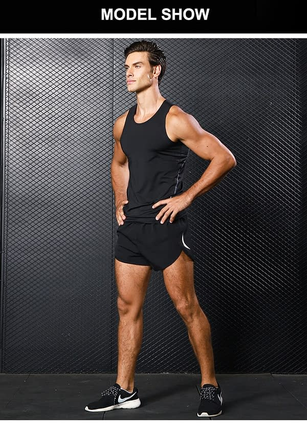 Reflective Night Running Shorts for Men brand: Refuse You Lose  Refuse You Lose