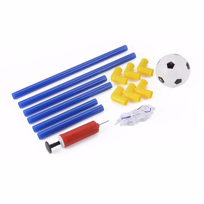 Portable Soccer Goal with Net - Free Ball and Inflator
