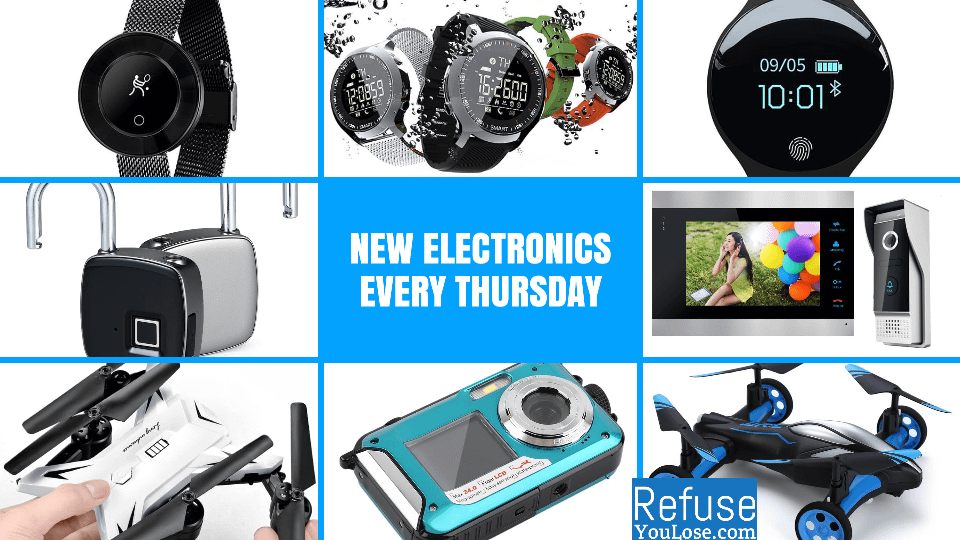 New Electronics Every Thursday at RefuseYouLose.com