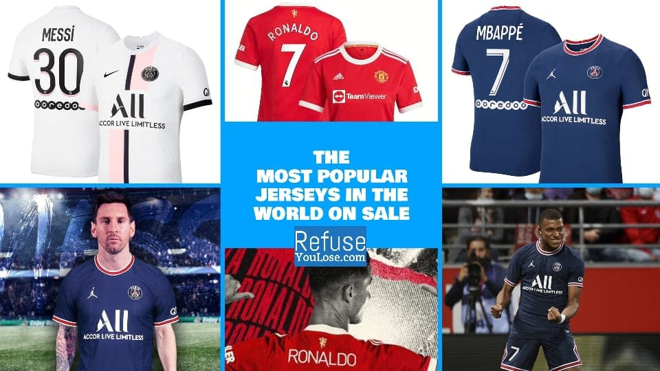 The Most Popular Jerseys in the world available at RefuseYouLose.com
