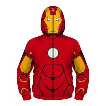 Dr. Kill Pain Fight Coronavirus Superhero Hooded Jacket with Face Mask For Kids Color: Red / Yellow Kid Size: 5 New Arrivals 2020 Fight Coronavirus Protective Jackets Best Sellers https://drkillpain.com