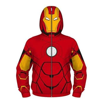 Fight Coronavirus Superhero Hooded Jacket with Face Mask For Kids New Arrivals 2020 Fight Coronavirus Protective Jackets Best Sellers Color: Red / Yellow Kid Size: 5