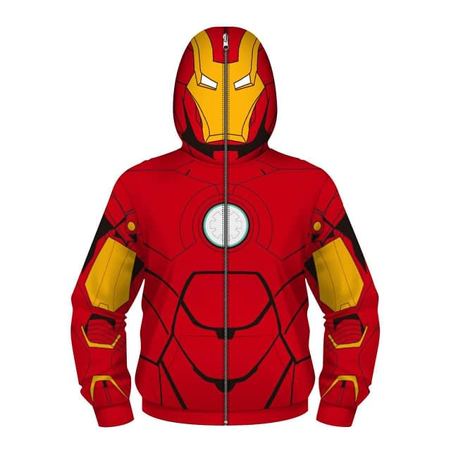Fight Coronavirus Superhero Hooded Jacket with Face Mask For Kids New Arrivals 2020 Fight Coronavirus Protective Jackets Best Sellers color: Black / Gray|Black / Red|Black / White|Navy|Red|Red / Black|Red / Blue|Red / Yellow|Wine Red|Black|Blue|Green|White