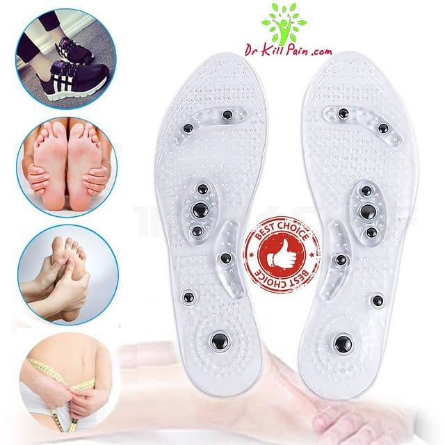 Magnetic Massage and Weight Loss Insoles color: White  New Arrivals 2020 Best Sellers Foot Pain Relief Weight Loss Remedies