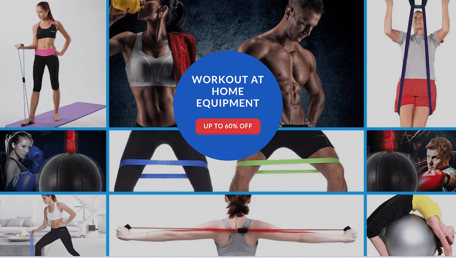 Workout At Home Equipment Only $5 At RefuseYouLose.com