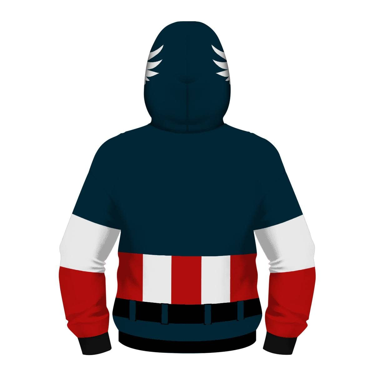 Fight Coronavirus Superhero Hooded Jacket with Mask (The Avengers, Captain America, Iron Man, Spiderman, Star Wars)