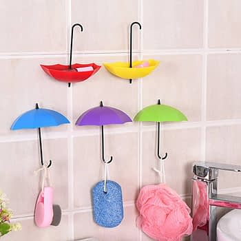 https://ineedaclean.com Creative Colorful Umbrella Shaped Hooks For Bathroom Accessories New Arrivals Bathroom Shop cb5feb1b7314637725a2e7: Green, Blue, Purple|Red, Yellow, Orange|Red, Yellow, Pink I Need A Clean https://ineedaclean.com/the-clean-store/creative-colorful-umbrella-shaped-hooks-for-bathroom-accessories/