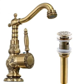 https://ineedaclean.com Elegant Faucet Single Handle Vintage Tap for Bathroom Bathroom Shop Bathroom Faucets cb5feb1b7314637725a2e7: High Type|High Type and Drain|Short Type|Short Type and Drain I Need A Clean https://ineedaclean.com/the-clean-store/elegant-faucet-single-handle-vintage-tap-for-bathroom/