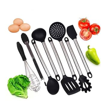https://ineedaclean.com Black Stainless Steel Kitchen Utensils Set New Arrivals Kitchen Tools cb5feb1b7314637725a2e7: Black I Need A Clean https://ineedaclean.com/the-clean-store/black-stainless-steel-kitchen-utensils-set/