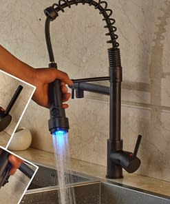 https://ineedaclean.com LED Color Changing Bronze Dual Spout Kitchen Faucet Tap New Arrivals Kitchen Faucets cb5feb1b7314637725a2e7: LED Black Bronze A|LED Black Bronze B|LED Black Bronze C|LED Brushed Nickel|LED Chrome|LED Golden  I Need A Clean https://ineedaclean.com/the-clean-store/led-color-changing-bronze-dual-spout-kitchen-faucet-tap/
