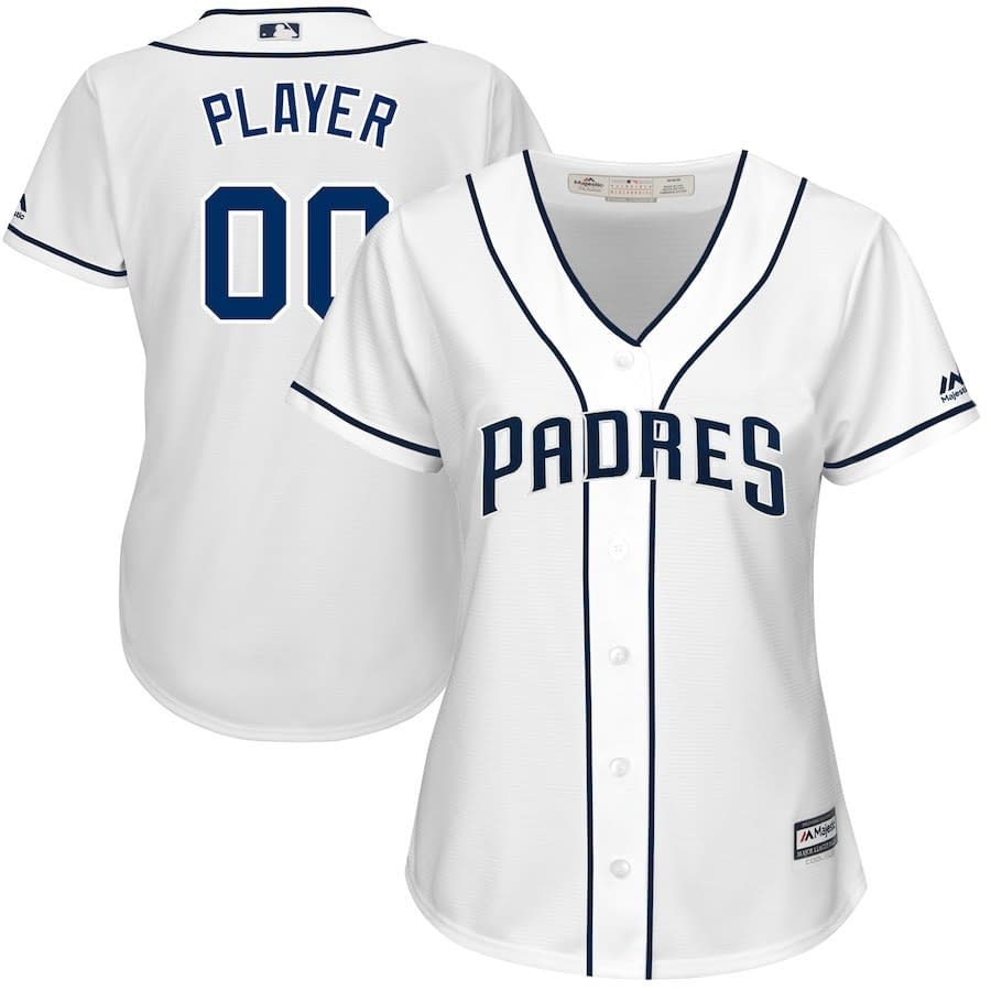 half off c7f39 2afb6 San Diego Padres MLB Jersey For Youth, Women, or Men - Custom Name and  Number