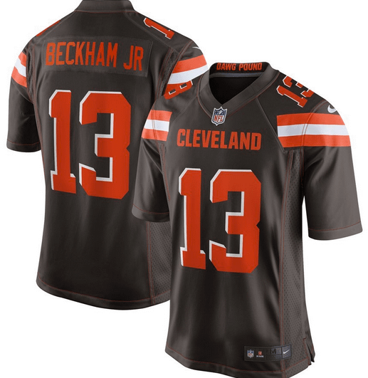 cheaper 6ba14 0015f Odell Beckham Jr. Cleveland Browns NFL Football Jersey for Men, Women, or  Youth