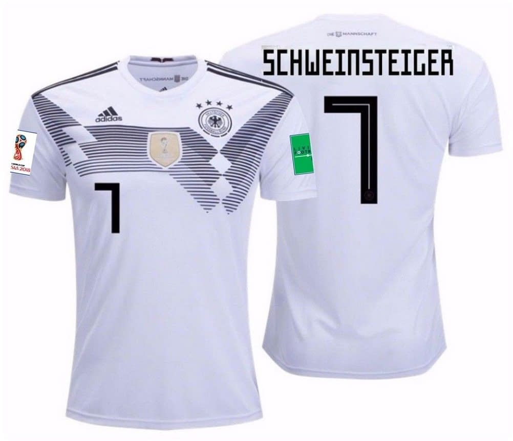 buy popular 0680b 9afd4 Germany Soccer Jersey For Men, Women, or Youth - Custom Name and Number