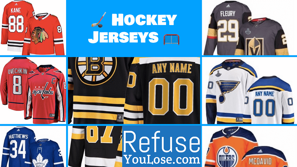 NHL Hockey Jerseys - RefuseYouLose.com