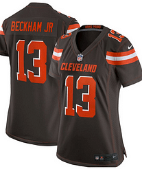 cheaper 4adce a9a82 Odell Beckham Jr. Cleveland Browns NFL Football Jersey for Men, Women, or  Youth
