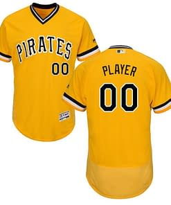 best service 26a6c e65e4 Pittsburgh Pirates MLB Jersey For Youth, Women, or Men - Custom Name and  Number