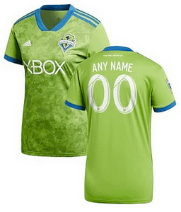 newest d27fb 2921e Seattle Sounders FC MLS Soccer Jersey for Men, Women, or Youth - Custom  Name and Number