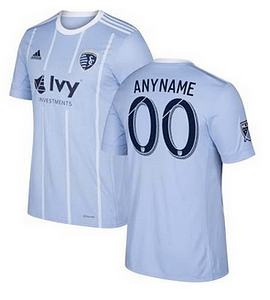 competitive price c9b72 2ef22 Sporting Kansas City MLS Soccer Jersey for Men, Women, or Youth - Custom  Name and Number