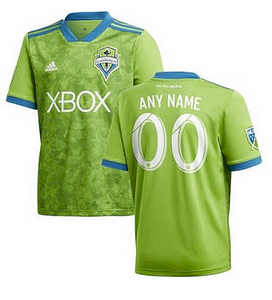 newest 69f29 457da Seattle Sounders FC MLS Soccer Jersey for Men, Women, or Youth - Custom  Name and Number