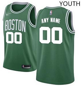 lowest price 56a43 56e9e Custom Boston Celtics NBA Basketball Jersey For Men, Women, or Youth (Any  Name and Number)