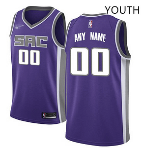 huge discount 5a85c 8051d Custom Sacramento Kings NBA Basketball Jersey For Men, Women, or Youth (Any  name and Number)