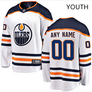 low priced a10b9 1c379 Edmonton Oilers NHL Hockey Jersey For Men, Women, or Youth