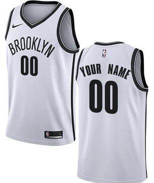 best service 6e774 d62f1 Custom Brooklyn Nets NBA Basketball Jersey For Men, Women, or Youth (Any  Name and Number)