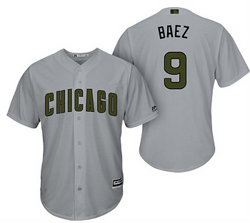 sports shoes 51238 815a8 Javier Báez Chicago Cubs MLB Jersey For Men, Women, or Youth