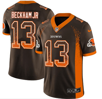 cheaper 51f39 2a831 Odell Beckham Jr. Cleveland Browns NFL Football Jersey for Men, Women, or  Youth