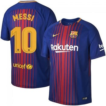 info for eda80 4a40c Lionel Messi Argentina or FC Barcelona Soccer Jersey for Men, Women, or  Youth
