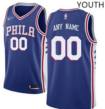 new concept 5d1e9 c0031 Custom Philadelphia 76ers NBA Basketball Jersey For Men, Women, or Youth  (Any Name and Number)