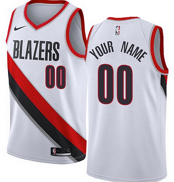 new product e715f a6f60 Custom Portland Trail Blazers NBA Basketball Jersey For Men, Women, or  Youth (Any Name and Number)