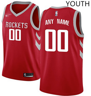hot sales af08a 0a2ae Custom Houston Rockets NBA Basketball Jersey For Men, Women, or Youth (Any  Name and Number)