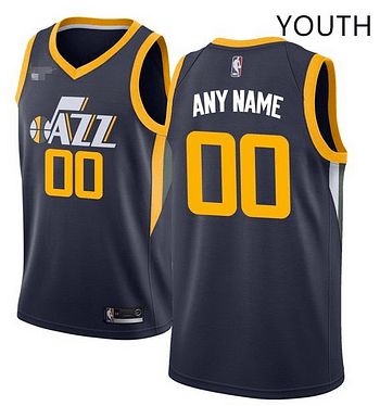 hot sale online 93085 4a45e Custom Utah Jazz NBA Basketball Jersey For Men, Women, or Youth (Any Name  and Number)