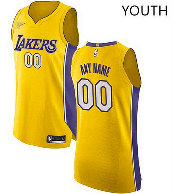 premium selection bef8f 9508d Los Angeles Lakers NBA Basketball Jersey For Men, Women, or Youth (Any Name  and Number)