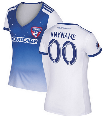 best service 62e98 2aeb5 🔥 FC Dallas MLS Soccer Jersey for Men, Women, or Youth ...