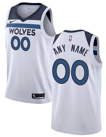 hot sale online d4f77 6e58d Custom Minnesota Timberwolves NBA Basketball Jersey For Men, Women, or  Youth (Any Name and Number)