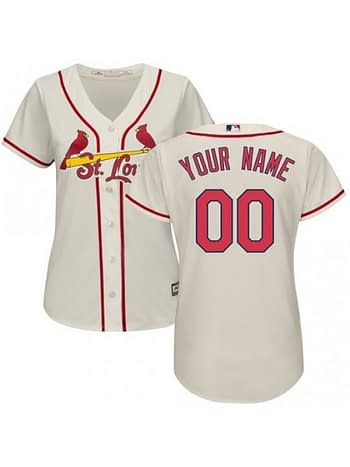 quality design 647eb 2b110 St. Louis Cardinals MLB Jersey For Men, Women, or Youth - Custom Name and  Number