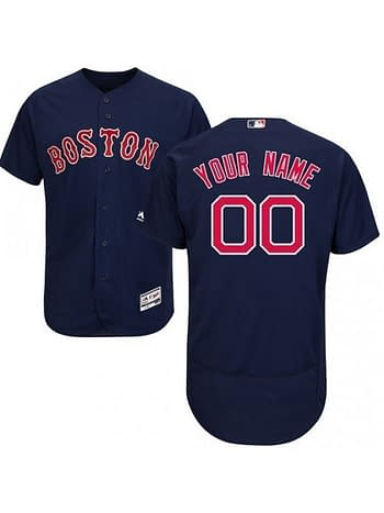 quality design bc7dd 7f6bb Boston Red Sox MLB Jersey For Men, Women, or Youth - Custom Name and Number